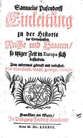 Einleitung zu der Historie der Vornehmsten Reiche und Staaten in Europa