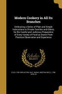 MODERN COOKERY IN ALL ITS BRAN PDF