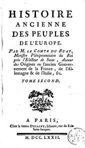 Histoire ancienne des peuples de l'Europe: Volume2