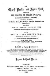 The Church Psalter and Hymn Book     Hymns Without Music PDF