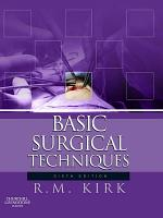 Basic Surgical Techniques E Book PDF
