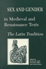 Sex and Gender in Medieval and Renaissance Texts PDF