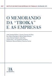 """O Memorando da """"Troika"""" e as Empresas (N.o 5 da Coleção)"""