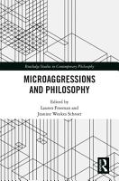 Microaggressions and Philosophy PDF