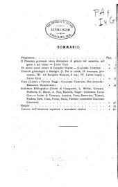 Giornale italiano di filologia e linguistica classica: Volumi 1-5