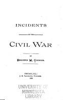 Incidents of the Civil War PDF