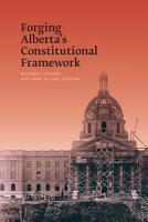 Forging Alberta s Constitutional Framework PDF