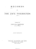 Records of the Fife Fox-hounds