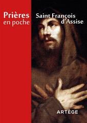 Prières en poche - Saint François d Assise