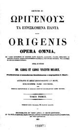 Patrologiæ cursus completus: seu, Bibliotheca universalis, integra, uniformis, commoda, oeconomica omnium SS. patrum, doctorum, scriptorumque ecclesiasticorum. Series græca, Volume 11