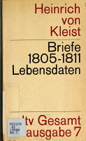 Briefe 1805 1811  Lebensdaten PDF