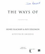 Ways of God Workbook PDF