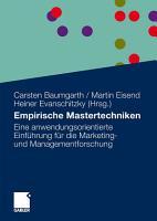 Empirische Mastertechniken PDF