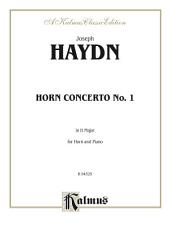 Horn Concerto No. 1 in D Major: For Horn and Piano