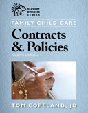 Family Child Care Contracts   Policies  Fourth Edition PDF