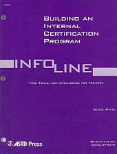 Building an Internal Certification Program