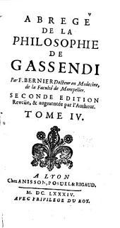 Abregé de la philosophie de Gassendi ...: Astronomie