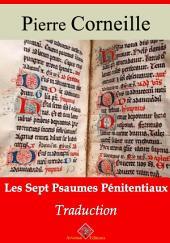 Les sept psaumes pénitentiaux: Nouvelle édition augmentée