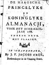 De Haagsche princelyke en koninglyke almanach: Volume 2