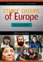 Ethnic Groups of Europe  An Encyclopedia PDF