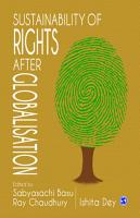 Sustainability of Rights after Globalisation PDF