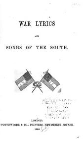 War Lyrics and Songs of the South