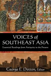 Voices Of Southeast Asia Book PDF