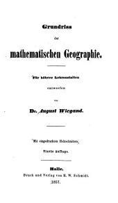 Grundriss der mathematischen Geographie