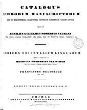 Catalogus librorum manuscriptorum qui in Bibliotheca senatoria civitatis lipsiensis asservantur