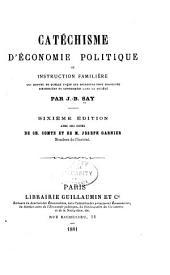 Catéchisme d'économie politique