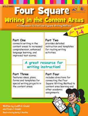 Four Square  Writing in the Content Areas for Grades 1 4  eBook