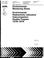Environmental radioactivity laboratory intercomparison studies program, 1978-1979: Volume 1