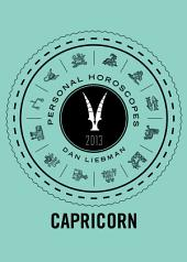 Capricorn: Personal Horoscopes 2013
