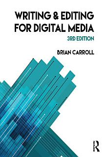 Writing and Editing for Digital Media Book