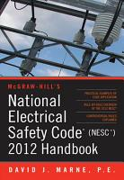 National Electrical Safety Code  NESC  2012 Handbook PDF