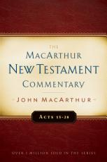 Acts 13 28 MacArthur New Testament Commentary PDF