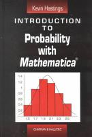 Introduction to Probability with Mathematica PDF