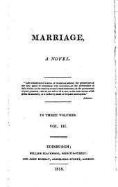 Marriage [by S.E. Ferrier].