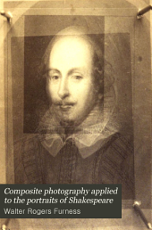 Composite photography applied to the portraits of Shakespeare