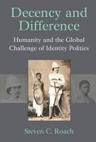 Decency and Difference PDF