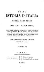 Della istoria d'Italia antica e moderna: con carte geografiche e tavole incise in rame, Volume 6