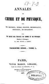Annales de chimie et de physique: Volume50