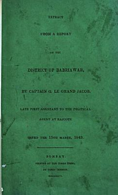 Geographical and statistical memoir of a survey of the Neilgherry Mountains  Under the superintendence of     J  Ouchterlony  1847