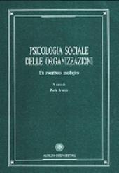 Psicologia sociale delle organizzazioni