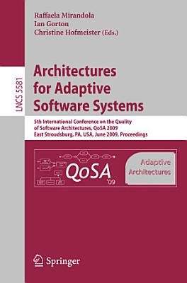 Architectures for Adaptive Software Systems PDF