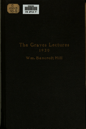 The Graves Lectures on Missions