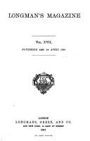 Longman s Magazine PDF