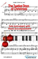 The twelve days of Christmas - Solo with Piano acc. (key G)