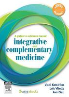 A Guide to Evidence based Integrative and Complementary Medicine PDF
