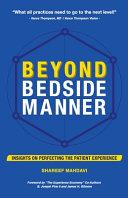 Beyond Bedside Manner Book